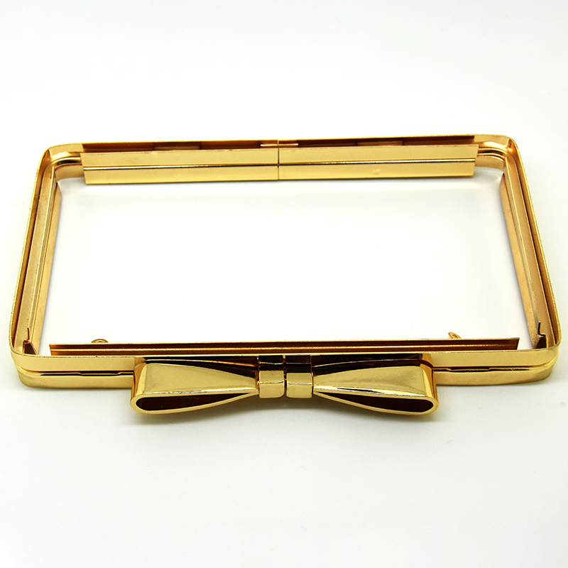 F100175 Bag Frame, Bow metal frame for purse, Clutch Frame ...